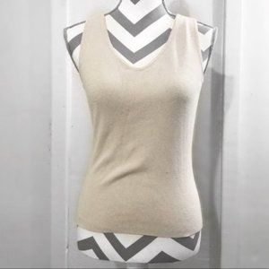 Fitted Stretch V Neck Classic Stylish Tank